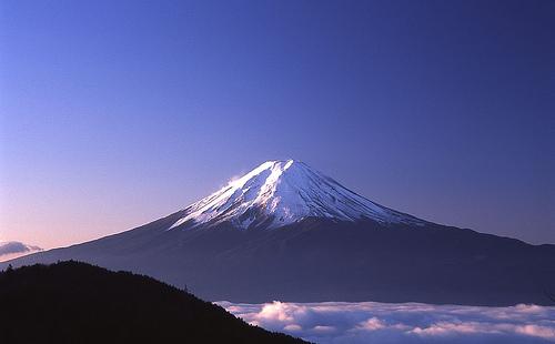 Gravir les pentes du Mont Fuji, c'est comme atteindre un but. Et c'est très important pour les Japonais.