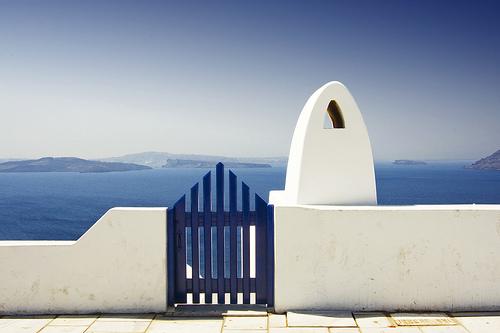 Une porte ouverte sur un océan de possibilités... (je sais, elle est facile)