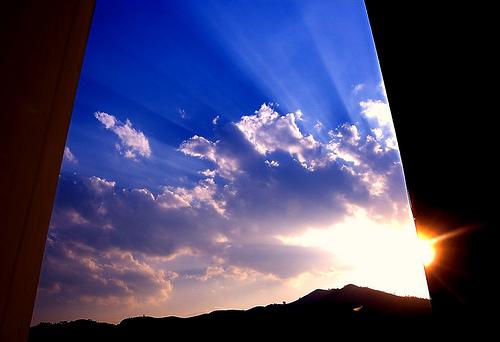 Notre vie est aussi large que notre champ de vision