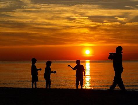 Les souvenirs des bords de plage sont les plus forts
