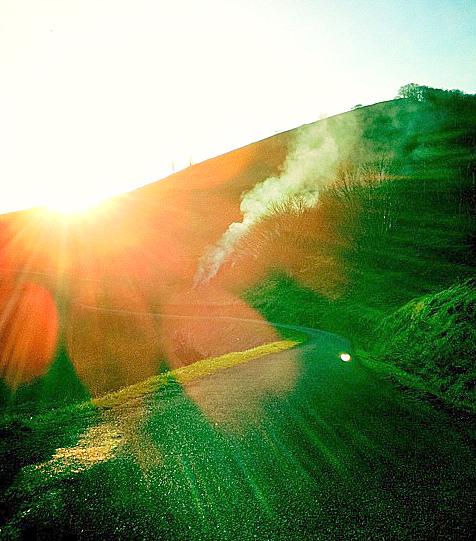 Le soleil du matin, promesse d'un jour de liberté