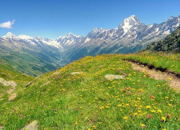 Elle est belle la montagne...
