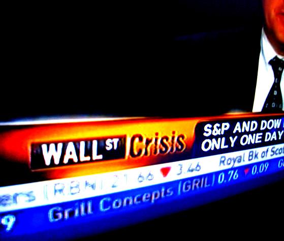 C'est la crise ?
